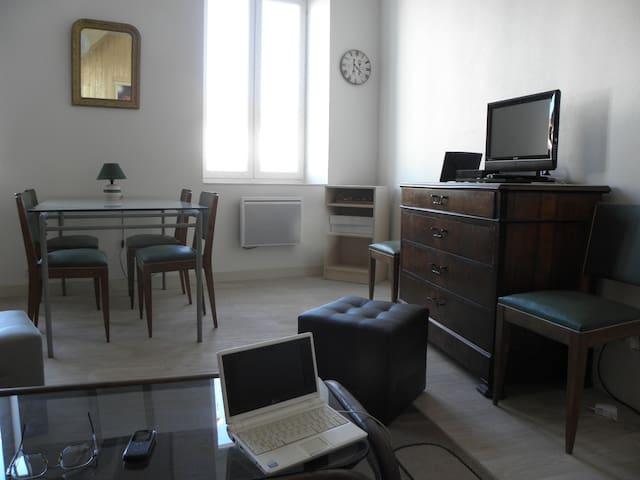 Charming flat in Rhône Valley - Tain-l'Hermitage - Apartamento