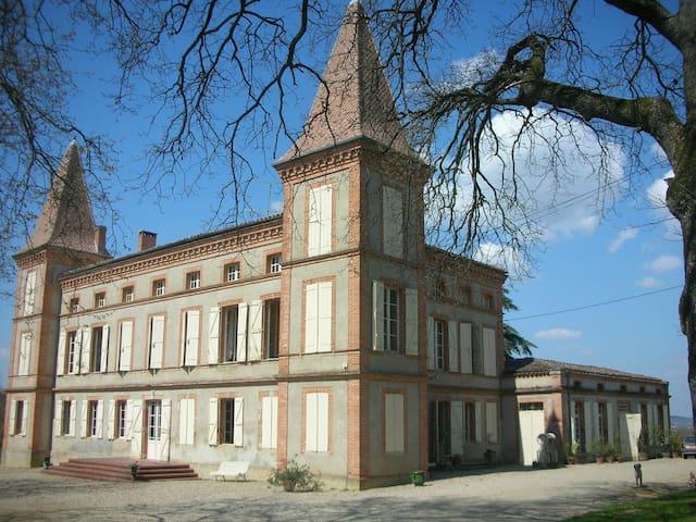 Gîte dans une aile du château - Lavaur - Lägenhet
