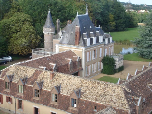 Family Castle in French Countryside - La Bazoche-Gouet - Kasteel