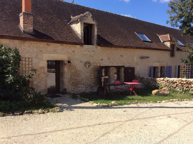 French countryside barn conversion - Saint-Pierre-de-Maillé - Bed & Breakfast