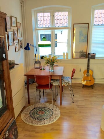 Cozy authentic app.in city centre - Aabenraa