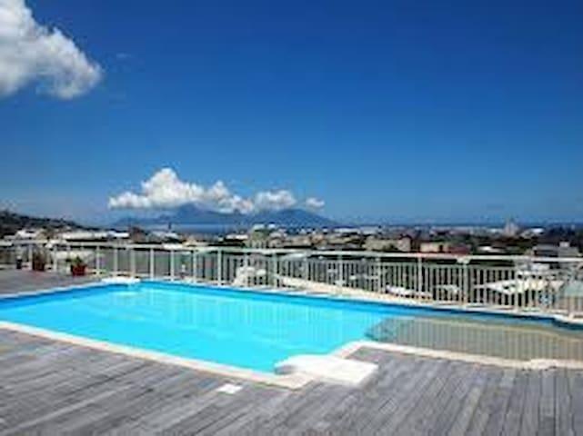 Une chambre dans penthouse - Papeete - Apartemen