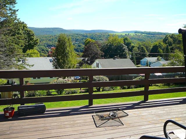 2nd fl bedrm-Great mtn view at deck - Adams - Hus