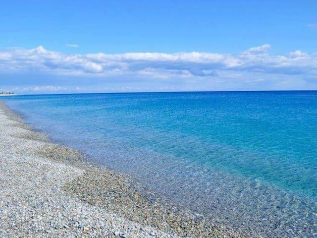 Holiday relaxing near the blue sea - San Carlo-Condofuri Marina - Appartement