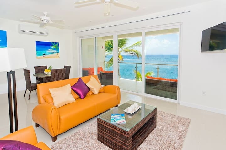 Beach Front Villa (Brand New) - Bodden Town - 別墅