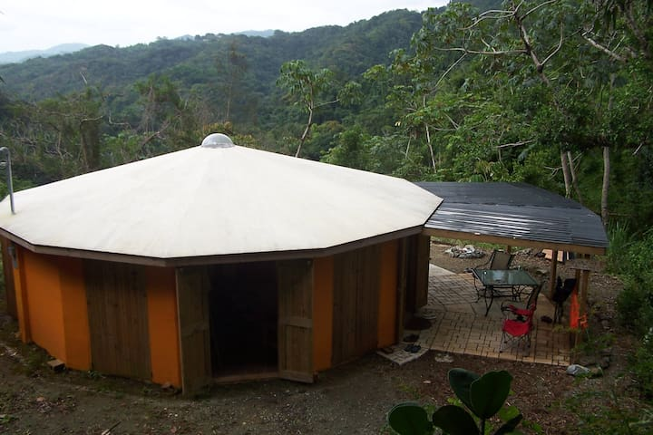 Unique Round House in the Mountains of SW PR - Maricao - Hus