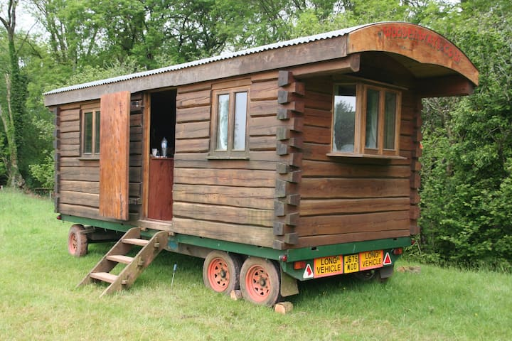 Woodenways Log Cabin in woods. very private. - Hockworthy - Chatka