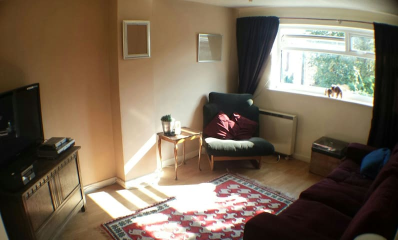 1 bedroom flat next to a river - Parbold
