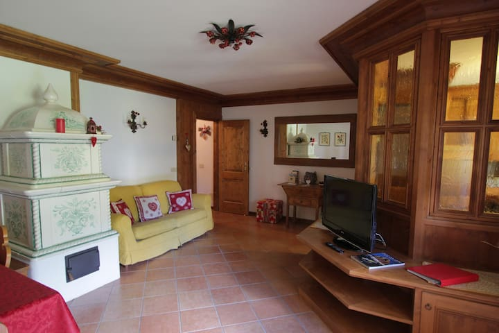 LARGE AND COMFY  UP TO 6 PEOPLE NEAR CORTINA :)) - Vodo di Cadore - Departamento