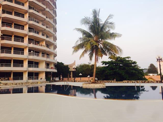 seaview appartment w swimmingpool - Tambon Taphong - Departamento