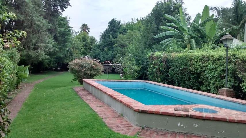 Maison de campagne, parc et jardins,le repos ideal - Gonnet - Hus