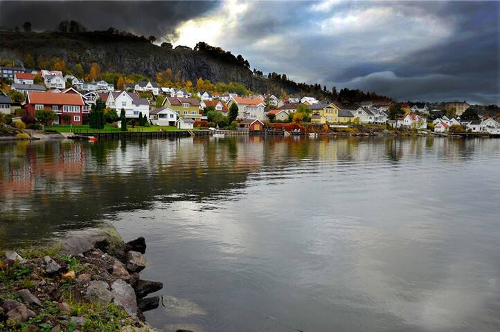 Idyllic Hagemann Holmestrand - near the sea - Holmestrand - Casa