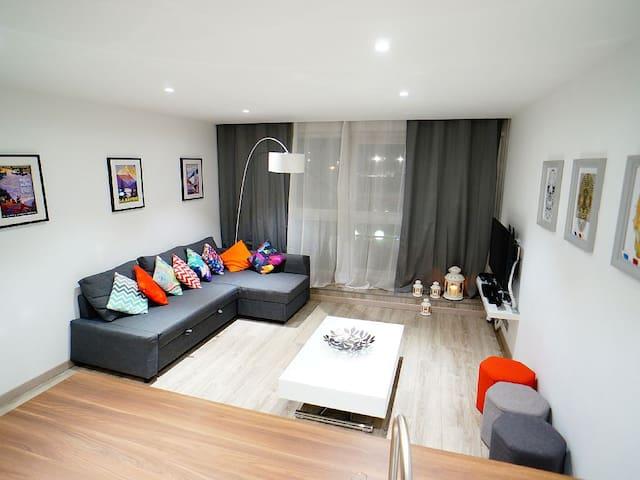 Boutique Apartment in L2A centre - Mont-de-Lans - Departamento