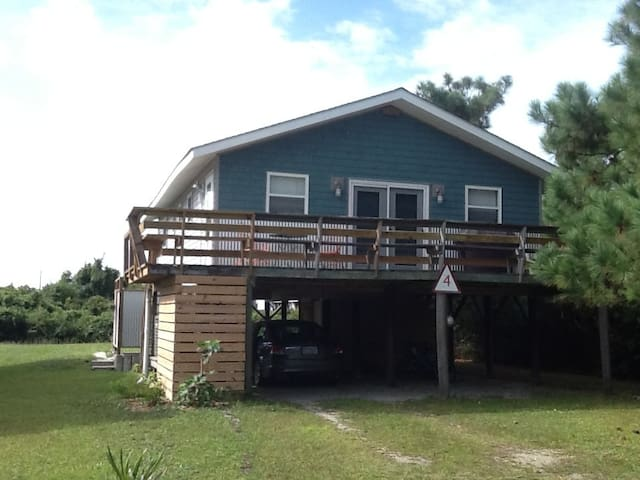 Affordable classic beach cottage - Oak Island - Ház