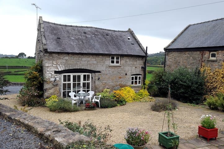 Picturesque Welsh stone cottage. - Cymau - Hus