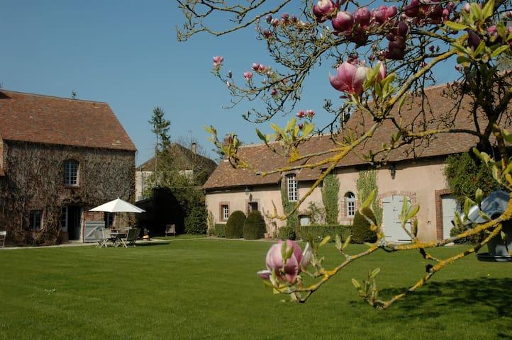Moulin de la Ronce - Alluyes - Oda + Kahvaltı