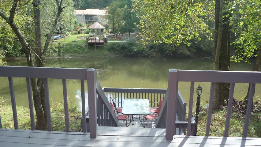 Convenient River Front Home - Ellijay - Hus