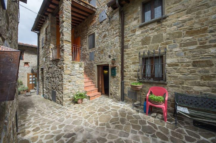 Stone cottage in a pedestrian close - Reggello - Hus