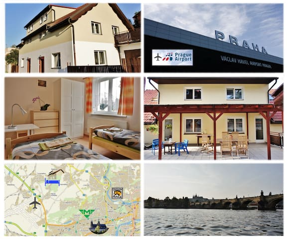 near the airport and Prague center - Statenice - Villa