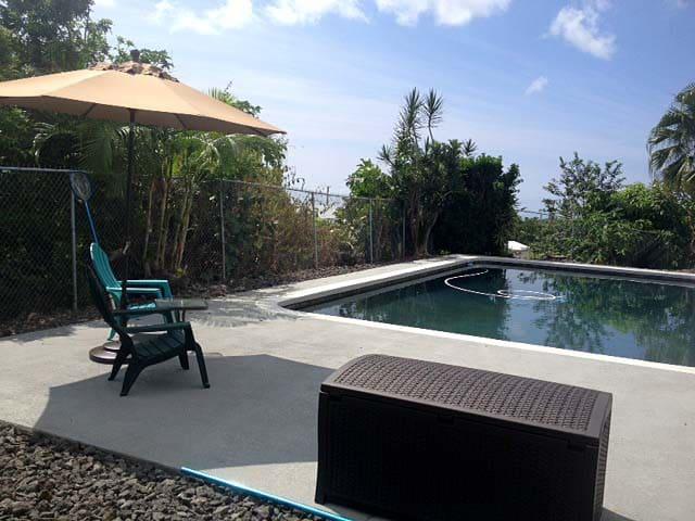 Ohana with Pool and Ocean Views - Kailua-Kona - Casa de huéspedes
