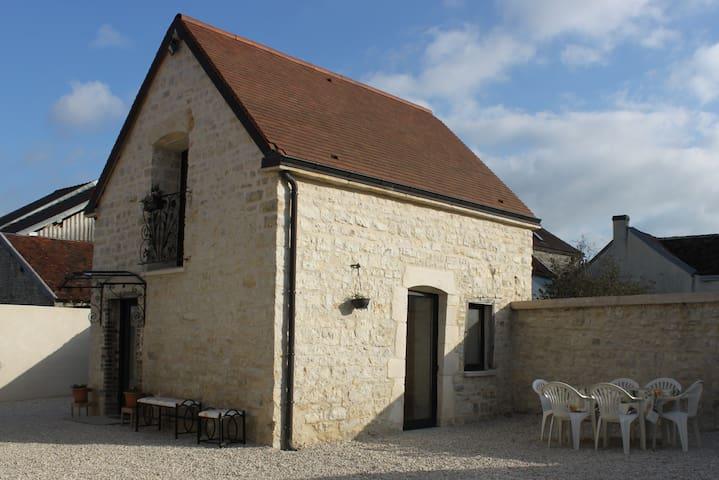 Charmante maison en pierre 1768 - Polisy - Hus