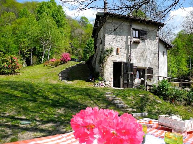 ancient mill in valsesia - Varallo Sesia - Cabaña