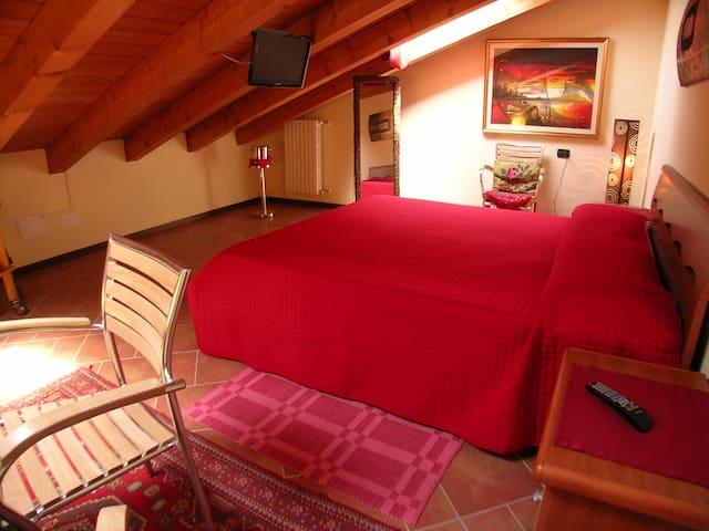 family suite with spa - Valeggio sul Mincio - Leilighet