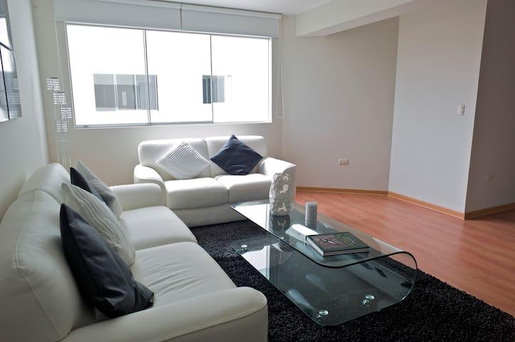 One-bedroom apartment in Miraflores - Miraflores - Lägenhet