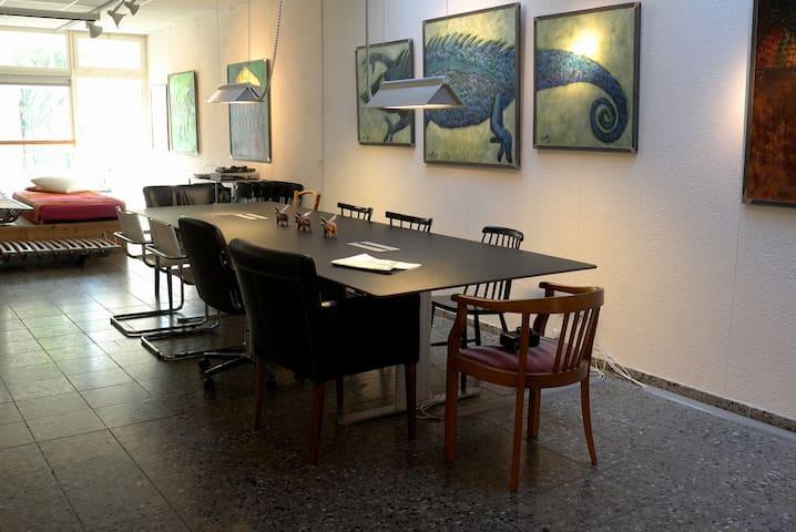 artist atelier in quiet surrounding - Berne - Daire