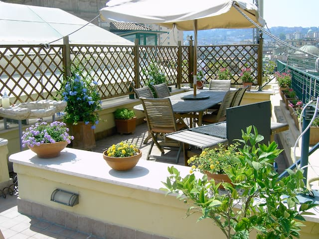 A wonderful penthouse in Naples - Naples - Appartement