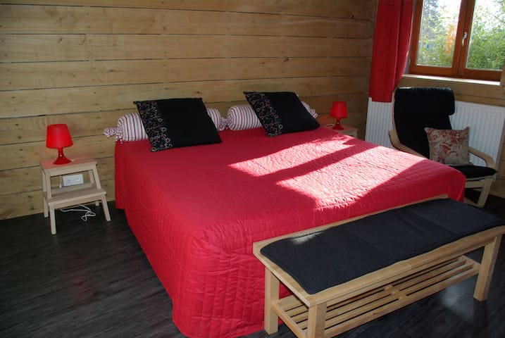 Industry bedroom near A47 - Farnay - Bed & Breakfast