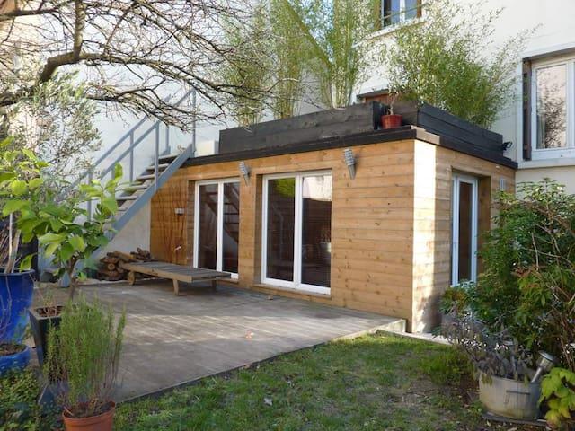 Nice studio with garden, near Paris - Deuil-la-Barre - 公寓