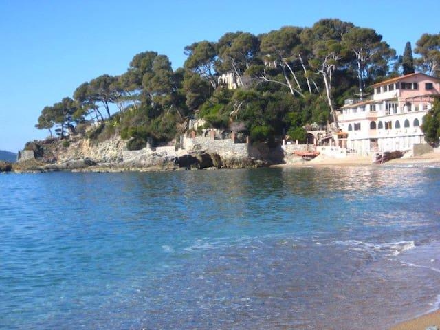 On the beach in Liguria, by 5 Terre - Tellaro - Leilighet