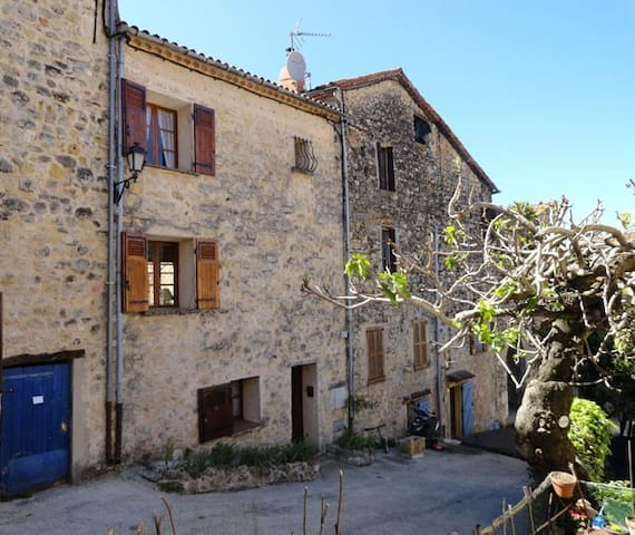 Town house with terrasse in Fayence - Fayence - Hus