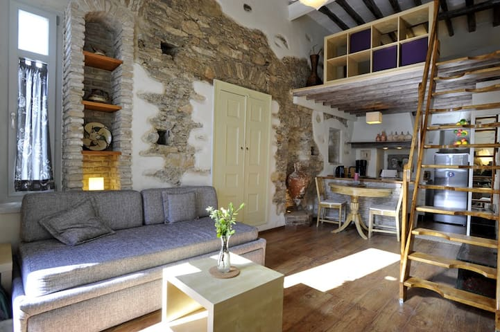 Cozy apartmen,on the sea,in Parikia - Paros