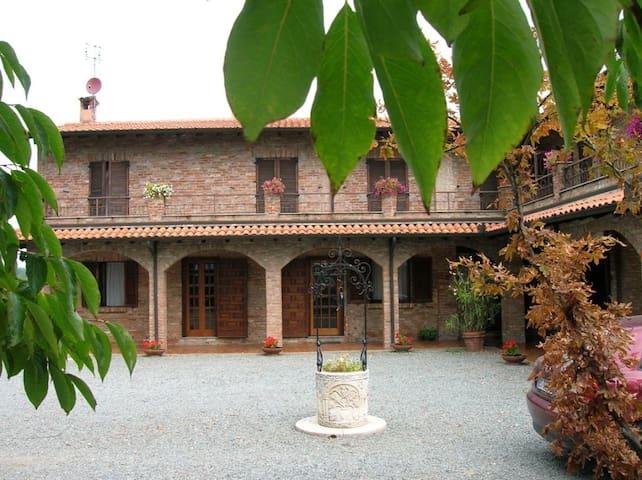 ENJOY WINE & MONFERRATO! Tenuta Tre Palme - Mombaruzzo - Villa