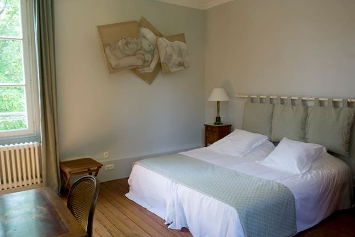 les Chambres de l'Abbaye. Le parthe - Saint-Germer-de-Fly - Pousada
