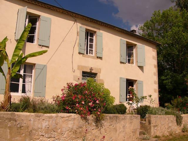 Charming stone farmhouse with pool - Saint-Exupéry - Casa