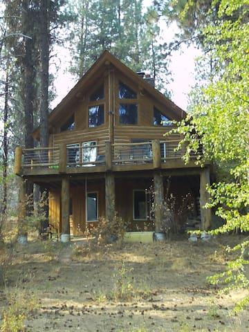 Garden Valley SF Payette Log Cabin - Garden Valley - Casa