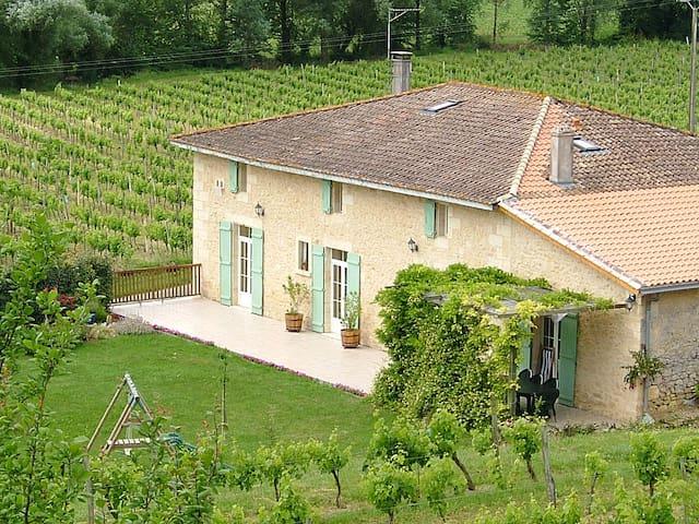 250 m² charming house in the vineyards - Saint-Pey-de-Castets - Hus