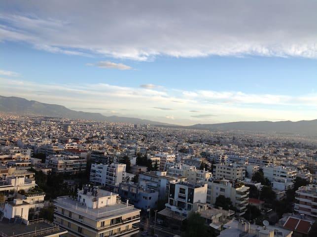 Unique view 12th floor apartment.. - Cholargos