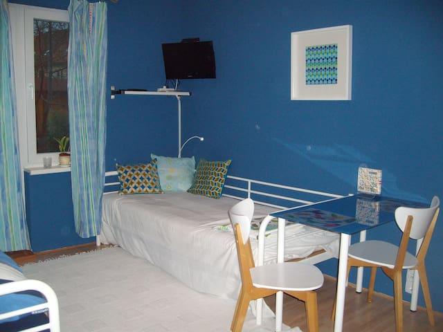 Einliegerwohnung im blauen Haus - Frankfurt - Lejlighed