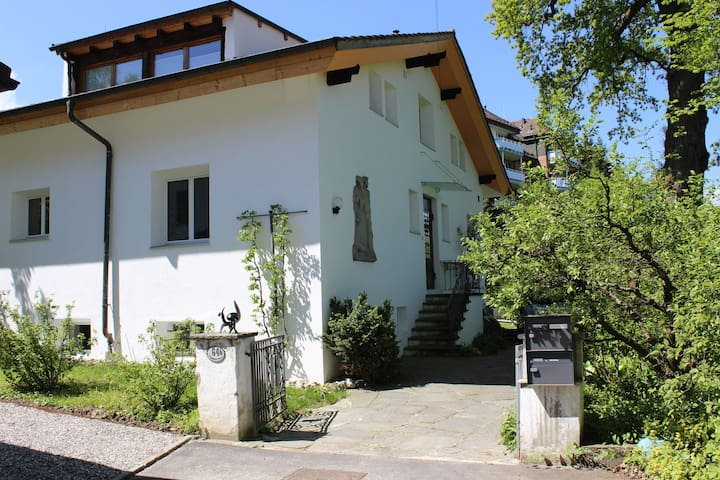 4-6 pers. apartment, free parking space - Lucerna