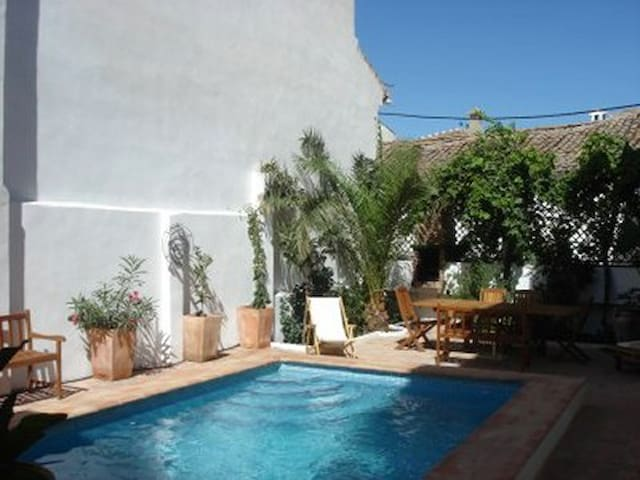 big family house with pool 8 pers - Lecrín - Villa