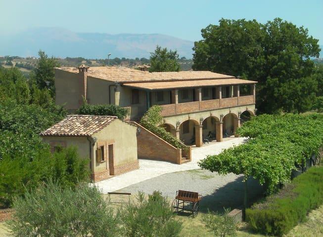 Countryhouse  Le Farnie DOUBLE room - Altomonte - Pousada