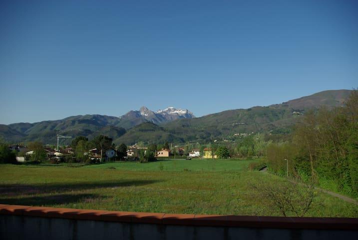 Mansarda 2 camere in Pieve Fosciana - Pieve Fosciana - Loft
