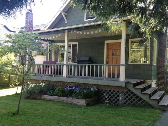 Cozy Old House Near City Center - Seattle - Ev