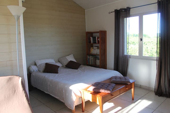 Nice room with private entrance - Larnage - Huis