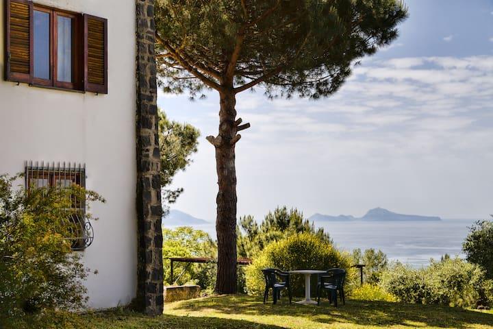 Pompei Capri the view from Vesuvius - Ercolano - Rumah