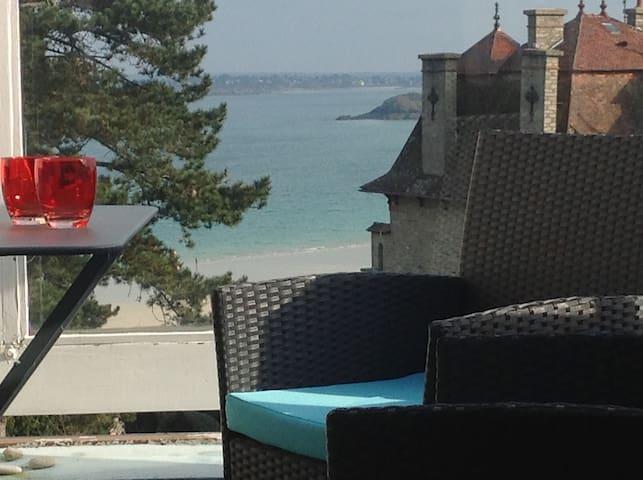 """ Newport Panorama "" appart vue mer - Saint-Cast-le-Guildo"